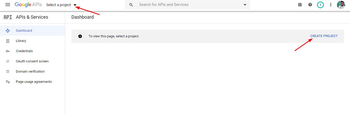 create new product - google calendar sync via oauth