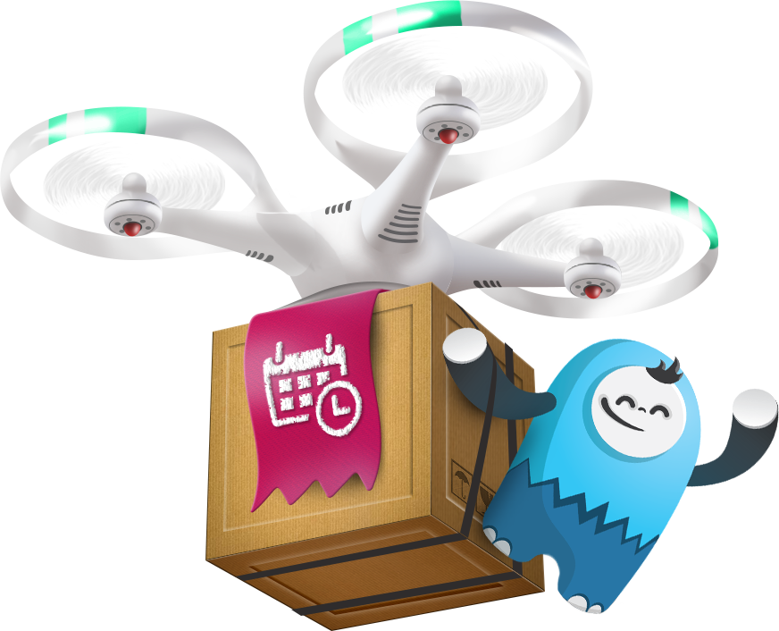 Taison mascot delivery image