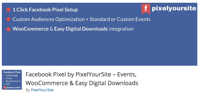 Best Free & Premium WooCommerce plugins - Facebook Pixel