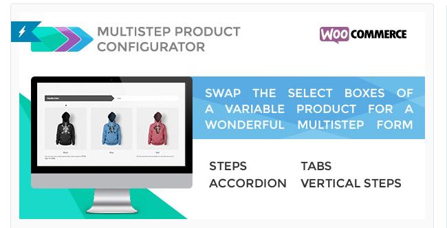 Best Free & Premium WooCommerce plugins - Multistep Product Configurator