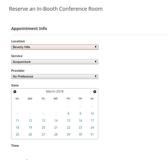 Create a Booking with BirchPress Scheduler Plugin