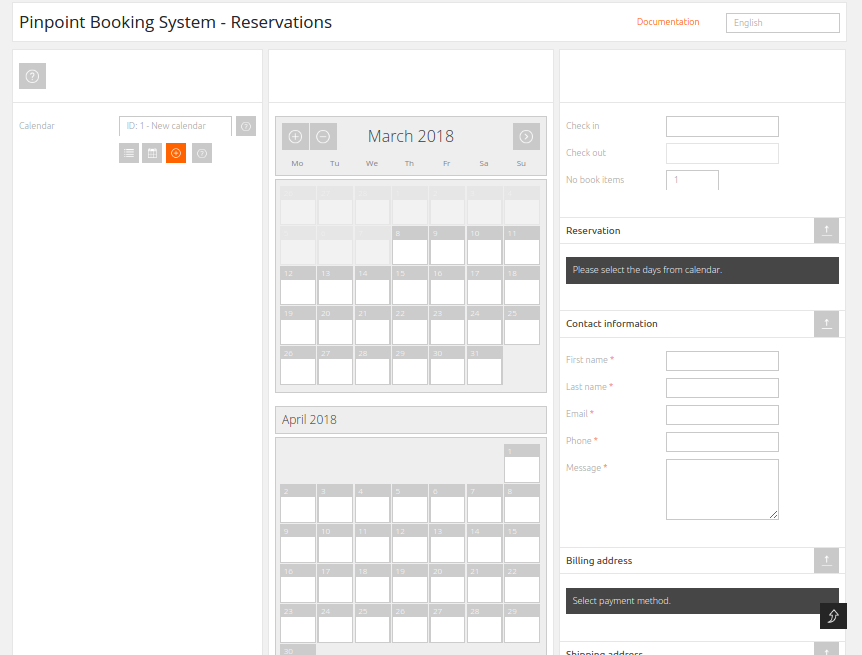 Create a Reservation