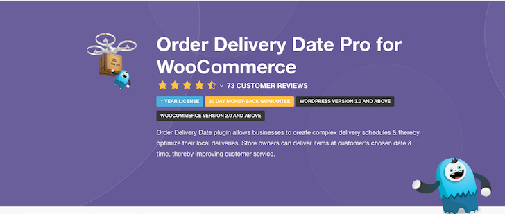 order delivery date pro for woo commerce
