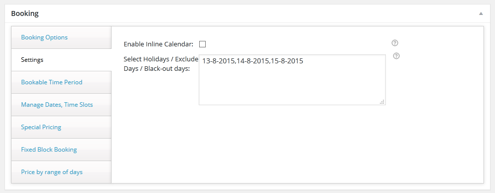 WooCommerce Booking & Appointment Plugin